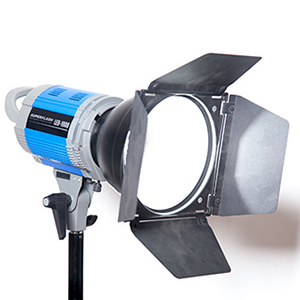 Studio video cu lumini continue LED, Caseta Studio video